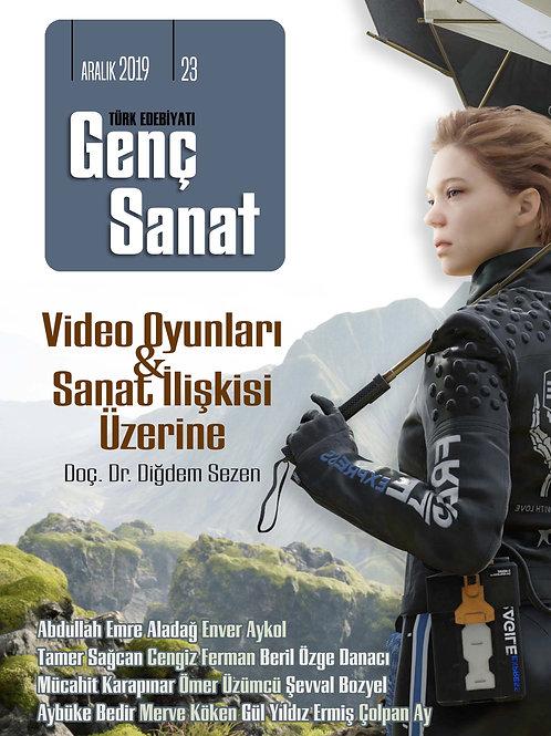 Türk Edebiyatı Genç Sanat 23. Sayı