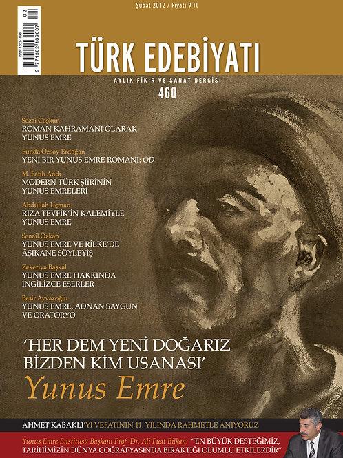 Türk Edebiyatı Dergisi 460. Sayı