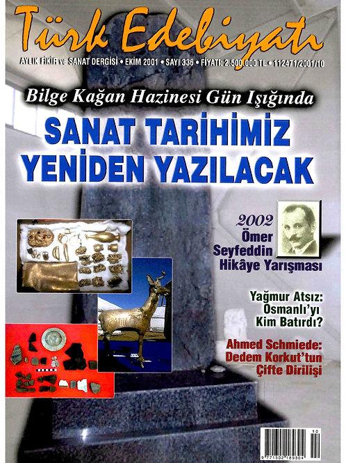 Türk Edebiyatı Dergisi 336. Sayı