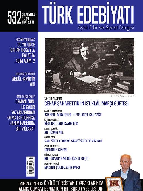 Türk Edebiyatı Dergisi 532. Sayı