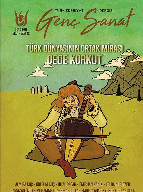 Türk Edebiyatı Genç Sanat 12. Sayı