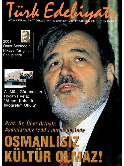 Türk Edebiyatı Dergisi 331. Sayı
