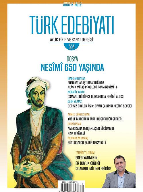 Türk Edebiyatı 554. Sayı