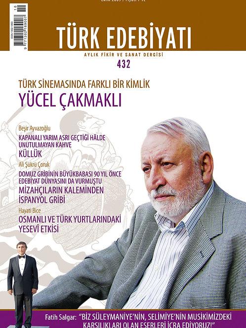 Türk Edebiyatı Dergisi 432. Sayı
