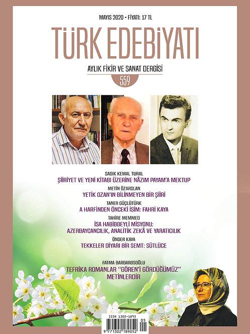 Türk Edebiyatı 559. Sayı