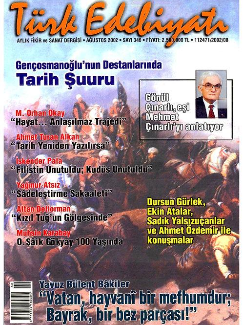 Türk Edebiyatı Dergisi 346. Sayı