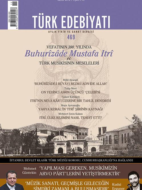 Türk Edebiyatı 469. Sayı
