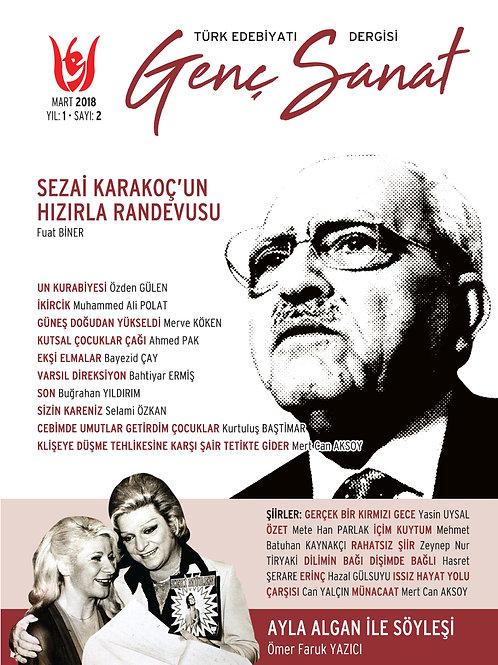 Türk Edebiyatı Genç Sanat 2. Sayı