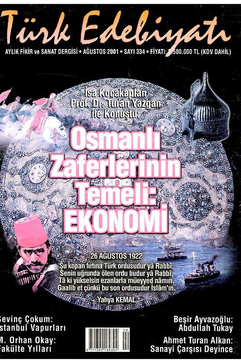 Türk Edebiyatı Dergisi 334. Sayı