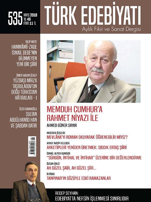 Türk Edebiyatı Dergisi 535. Sayı