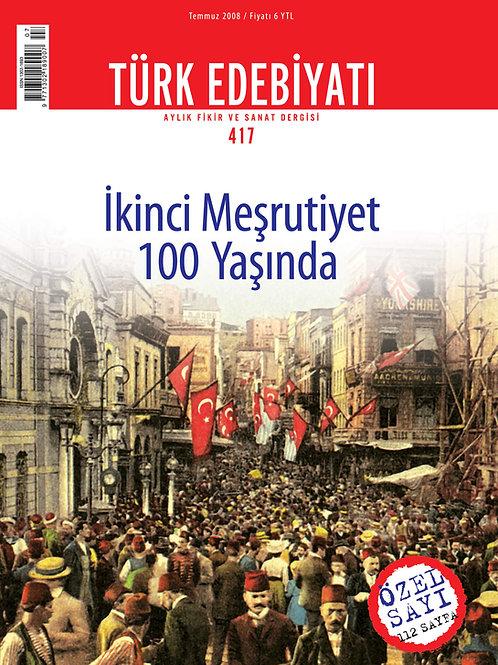 Türk Edebiyatı Dergisi 417. Sayı