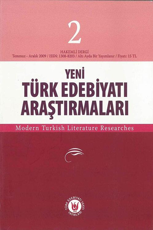 Yeni Türk Edebiyatı Araştırmaları 2