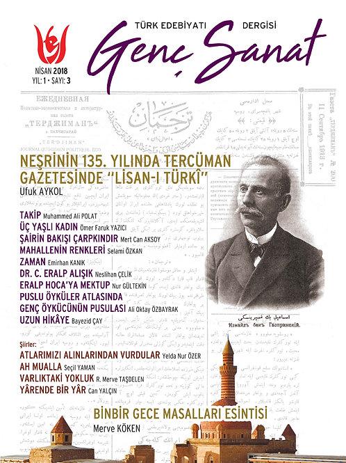 Türk Edebiyatı Genç Sanat 3. Sayı