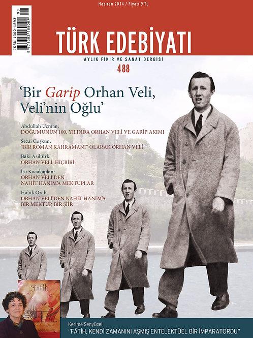 Türk Edebiyatı Dergisi 488. Sayı