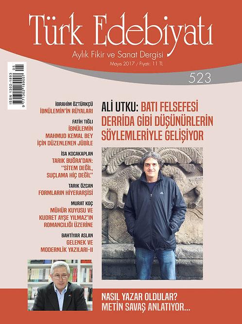 Türk Edebiyatı Dergisi 523. Sayı