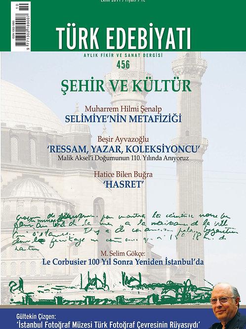 Türk Edebiyatı 456. Sayı