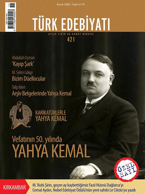 Türk Edebiyatı Dergisi 421. Sayı