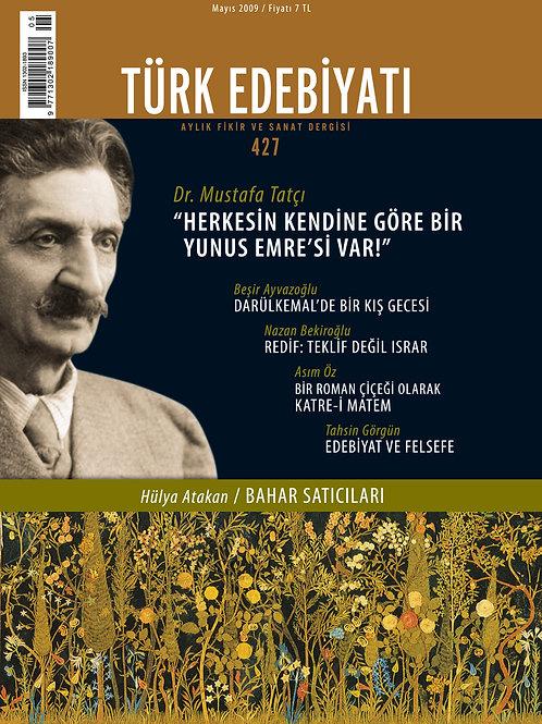 Türk Edebiyatı Dergisi 427. Sayı