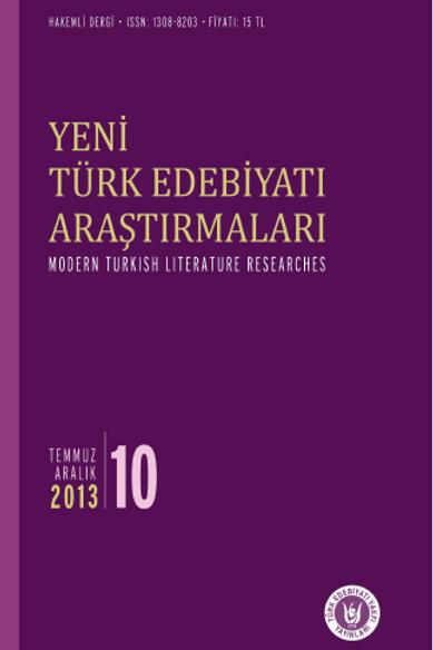 Yeni Türk Edebiyatı Araştırmaları 10