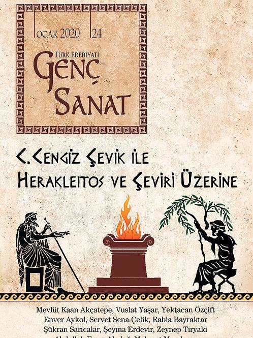 Türk Edebiyatı Genç Sanat 24. Sayı