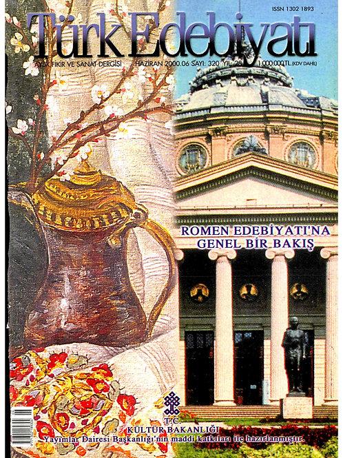 Türk Edebiyatı Dergisi 320. Sayı