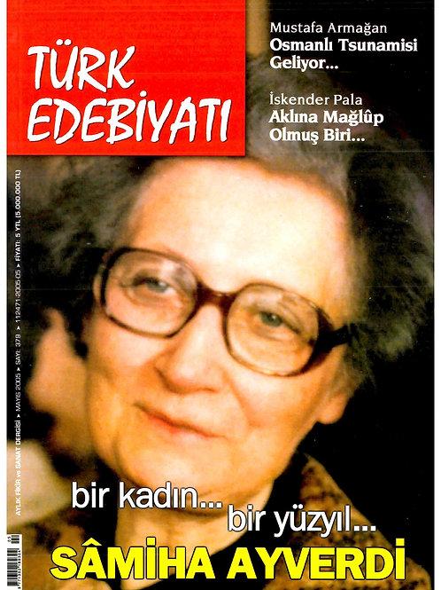 Türk Edebiyatı Dergisi 379. Sayı