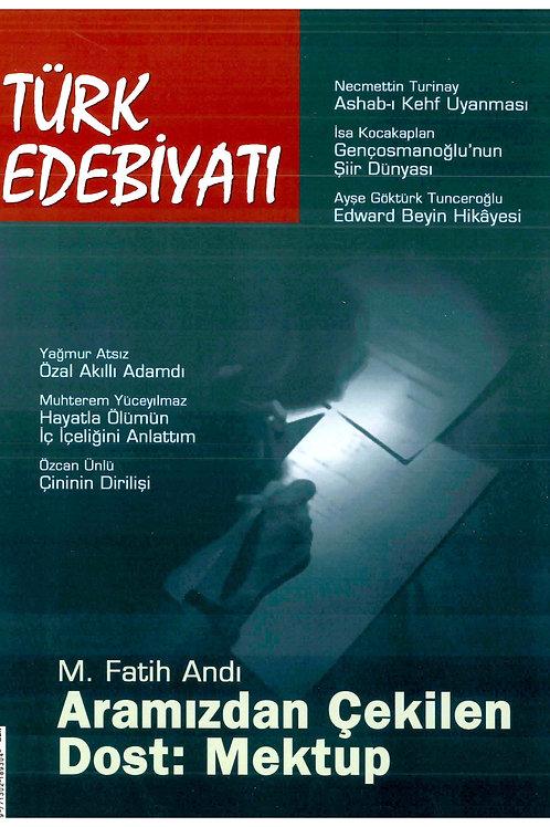 Türk Edebiyatı Dergisi 382. Sayı