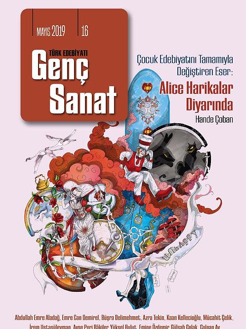 Türk Edebiyatı Genç Sanat 16. Sayı
