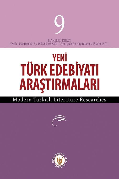 Yeni Türk Edebiyatı Araştırmaları 9