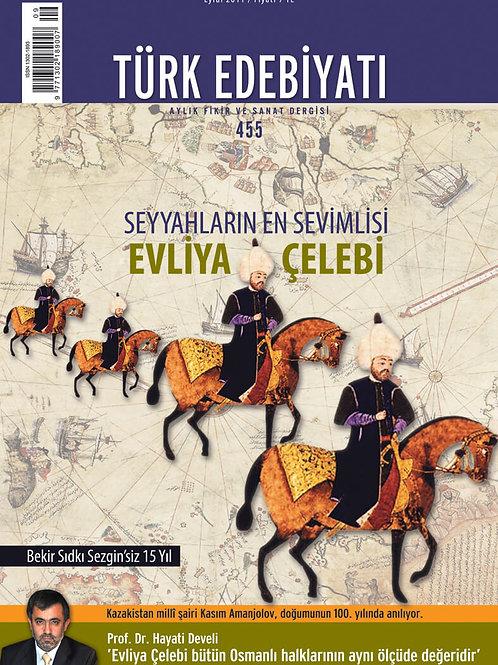 Türk Edebiyatı Dergisi 455. Sayı