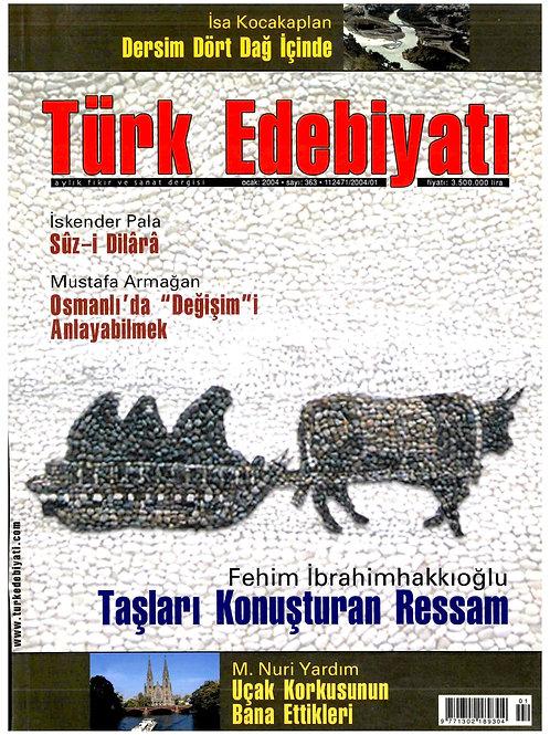 Türk Edebiyatı Dergisi 363. Sayı