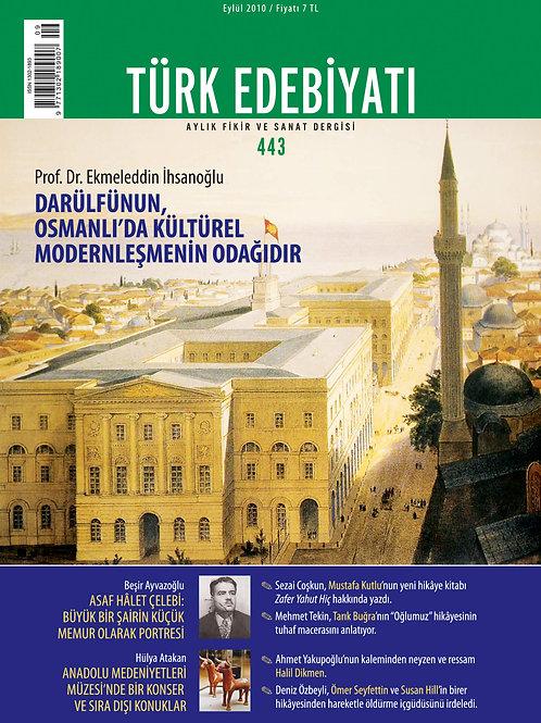 Türk Edebiyatı 443. Sayı