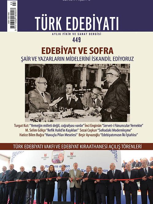 Türk Edebiyatı 449. Sayı