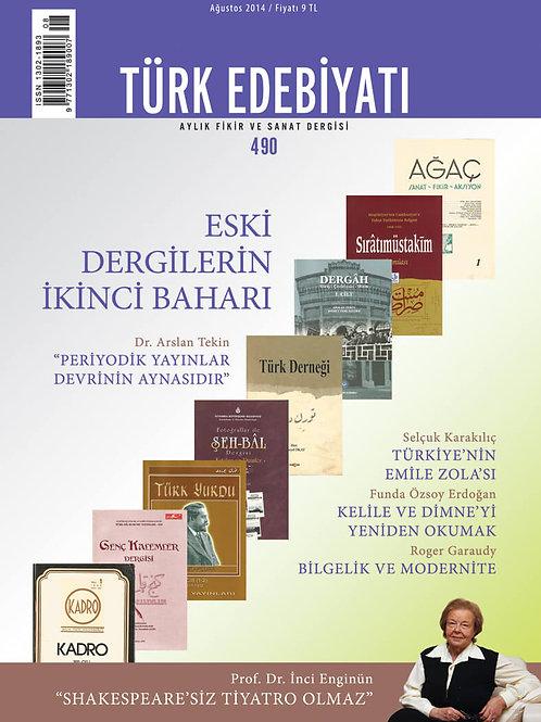 Türk Edebiyatı 490. Sayı