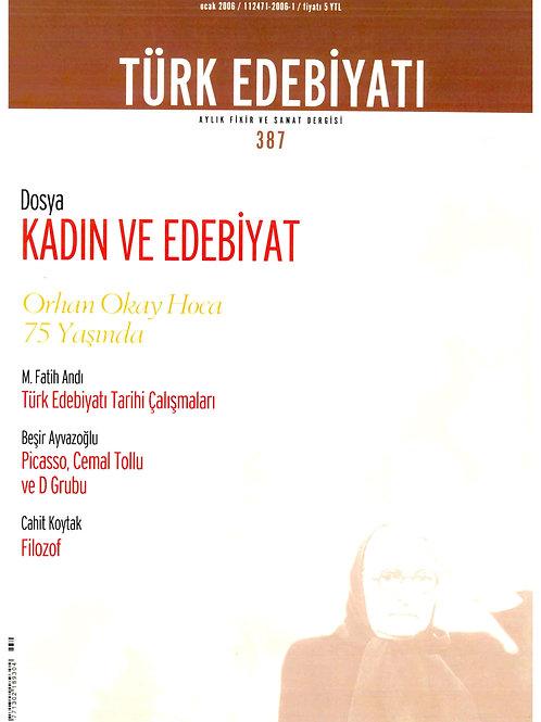 Türk Edebiyatı Dergisi 387. Sayı