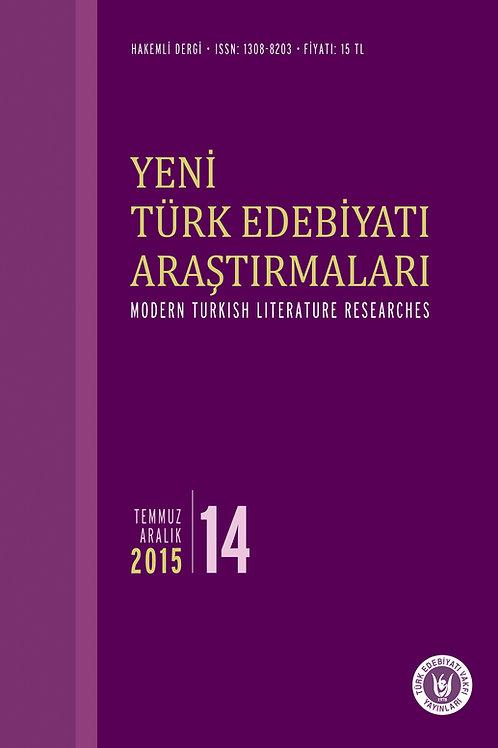 Yeni Türk Edebiyatı Araştırmaları 14