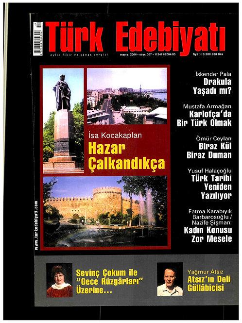 Türk Edebiyatı Dergisi 367. Sayı