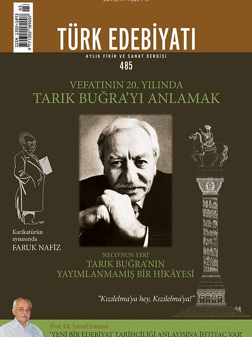 Türk Edebiyatı 485. Sayı