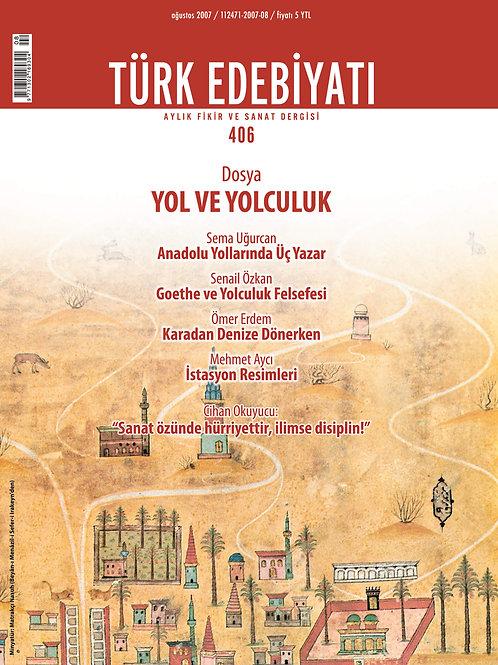 Türk Edebiyatı Dergisi 406. Sayı