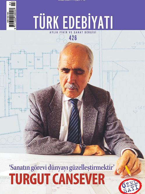 Türk Edebiyatı Dergisi 426. Sayı