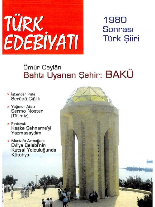 Türk Edebiyatı Dergisi 381. Sayı