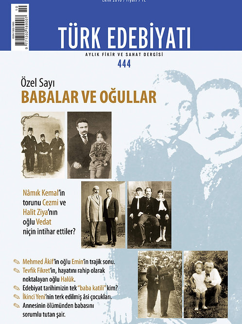 Türk Edebiyatı Dergisi 444. Sayı