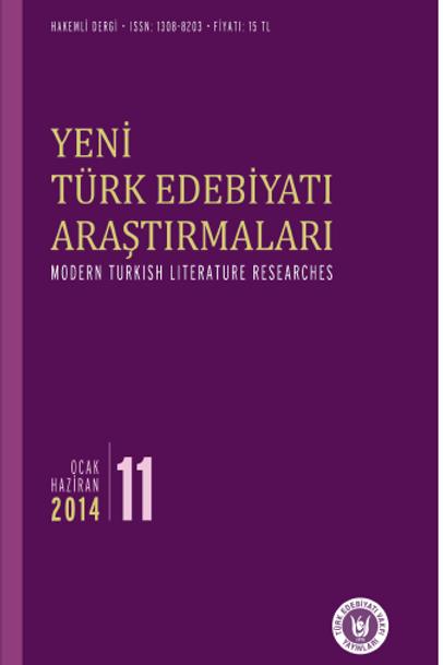 Yeni Türk Edebiyatı Araştırmaları 11