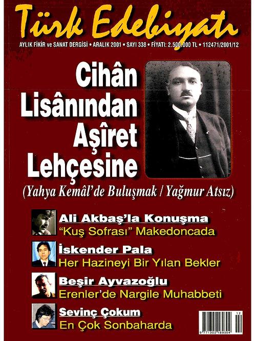 Türk Edebiyatı Dergisi 338. Sayı