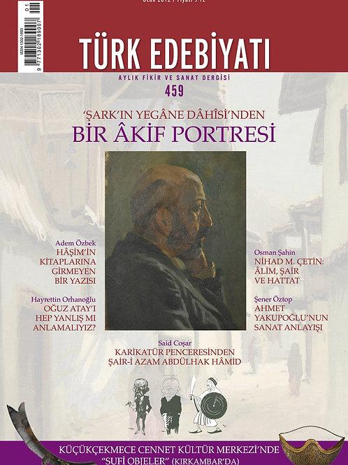 Türk Edebiyatı 459. Sayı
