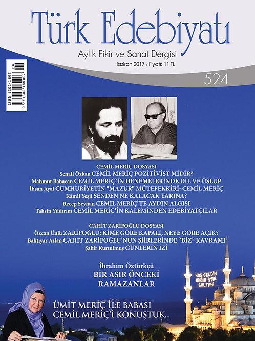 Türk Edebiyatı 524. Sayı