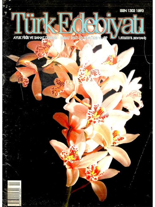 Türk Edebiyatı Dergisi 328. Sayı