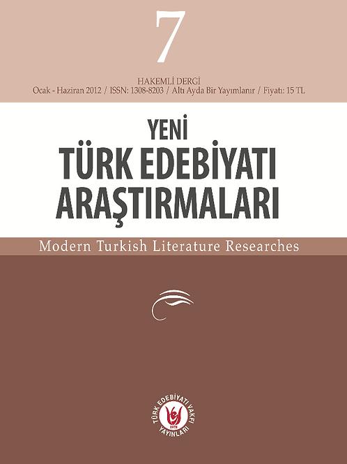 Yeni Türk Edebiyatı Araştırmaları 7