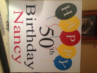 Happy Birthdy 50th