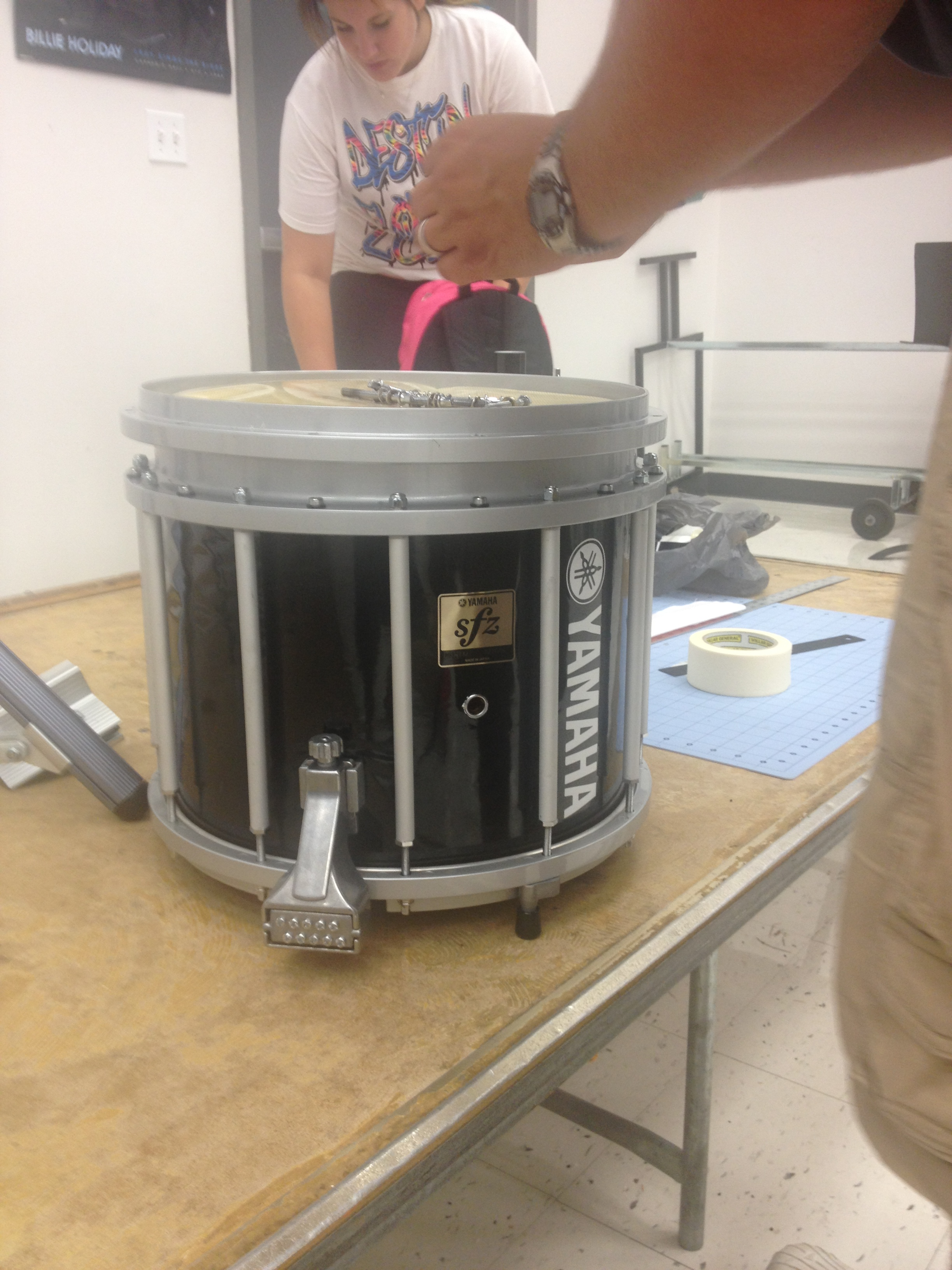 Drum Wrap and Logo